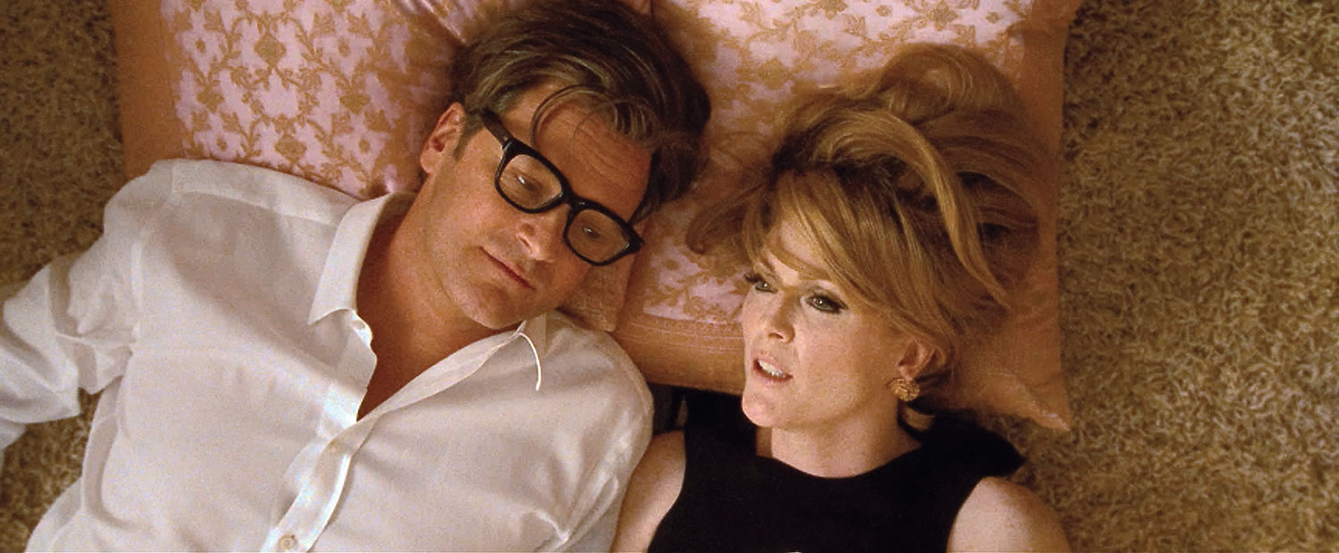 Colin Firth and Julianne Moore, A Single Man, 2009