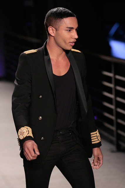 Olivier Rousting, the designing mind in charge at Balmain.