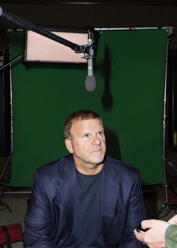 Tilman Fertitta quickly grasped TV's nuances. Photo by Max Burkhalter.