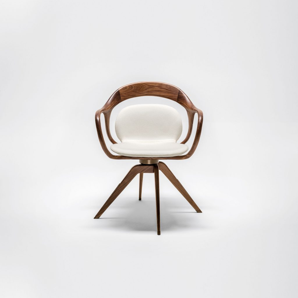 Norah chair by m2atelier for Giorgetti