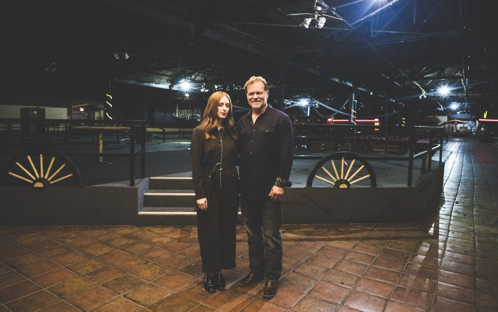 Music publicist Amber LaFrance and her developer dad, Jay LaFrance, are part of the family team that are saving the Longhorn Ballroom. (Portrait Cal Quinn)