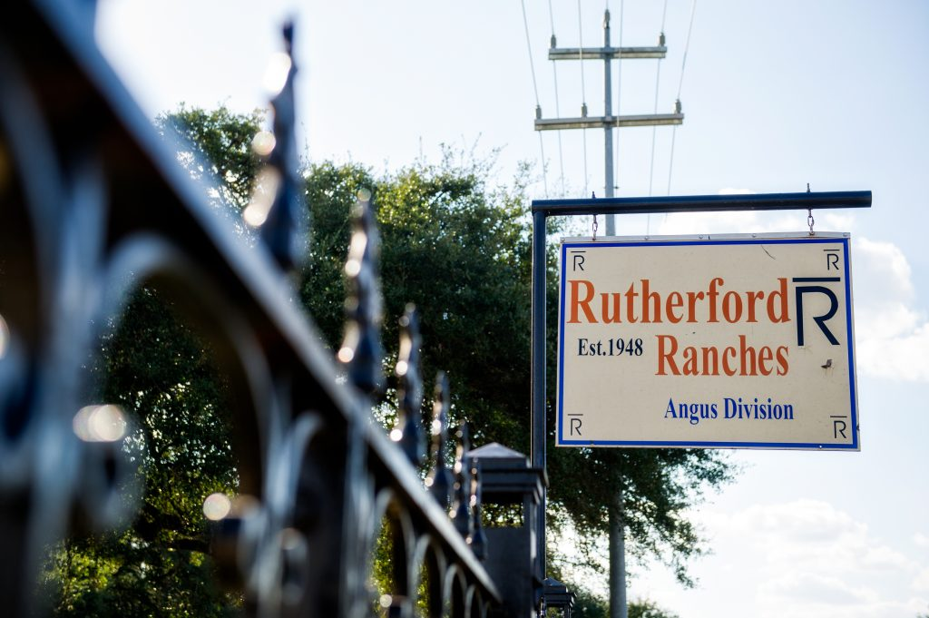 The historic Rutherford Ranch
