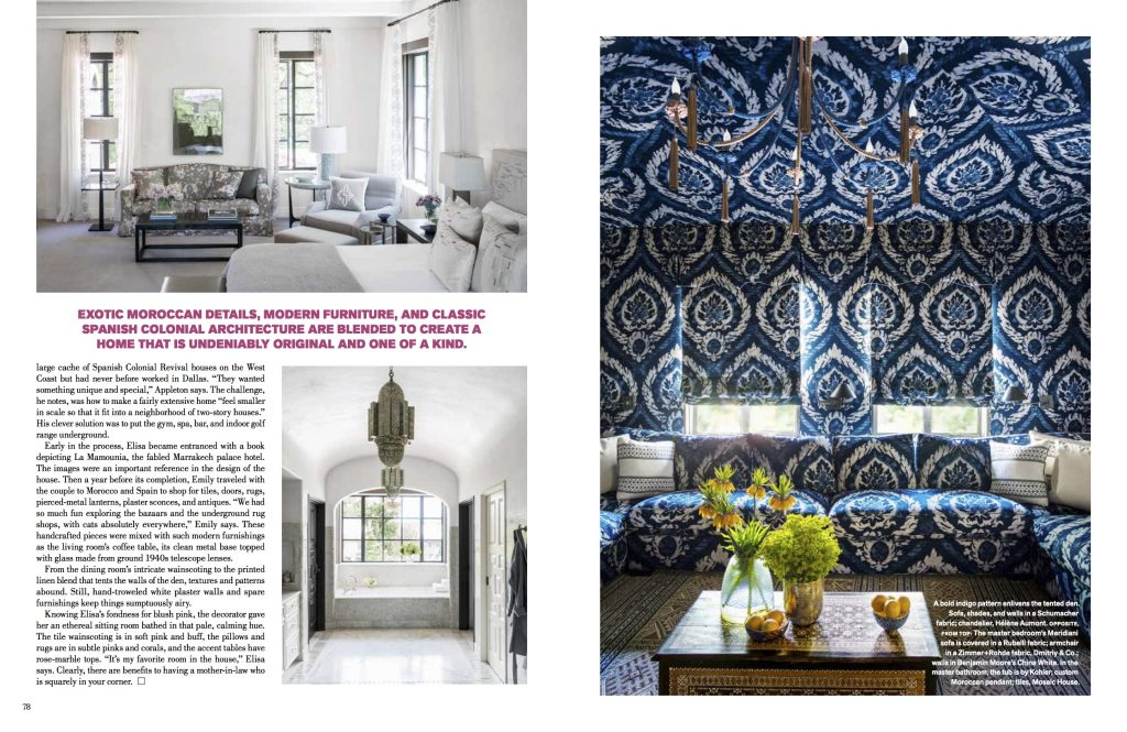 The Summers' home shows how having an interior designer in the family makes a world of difference.