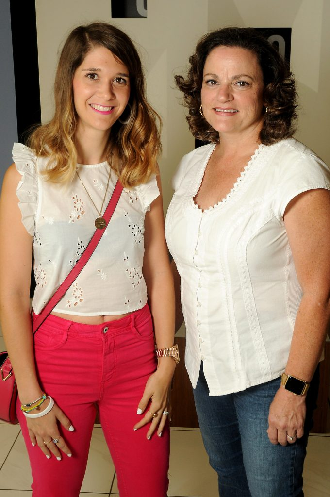 Alisee Mignon and Erin Hawkins at the new Galleria VI Thursday July 13, 2017. (Dave Rossman Photo)