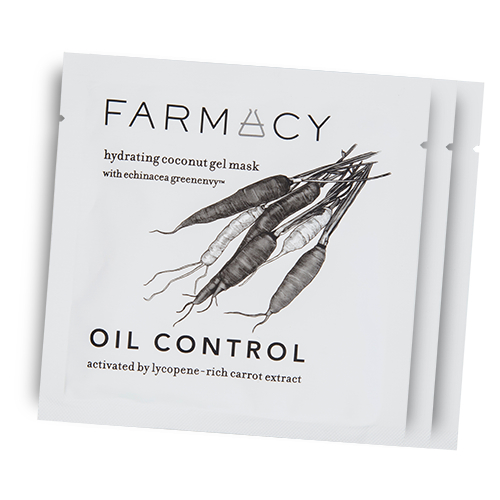 Looking for an oil control product? Try Farmacy's Hydrating Coconut Gel Mask.