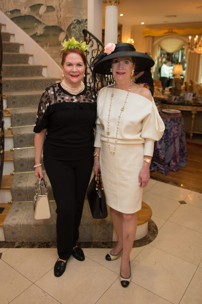 Houston Symphony garden luncheon at Rini and Edward Ziegler home