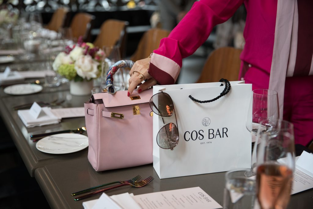 Tina Craig of Bag Snob co-hosted the lunch.