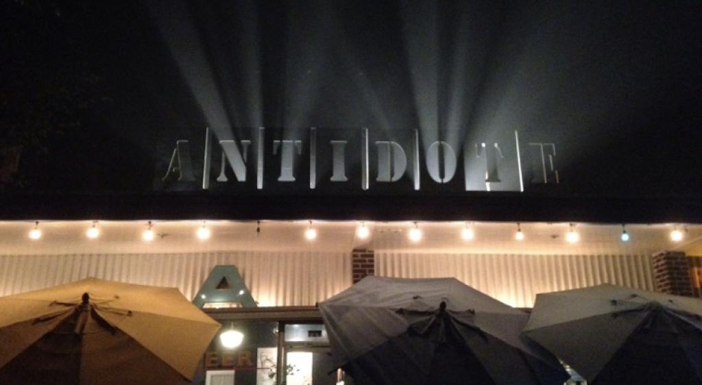 Antidote sign