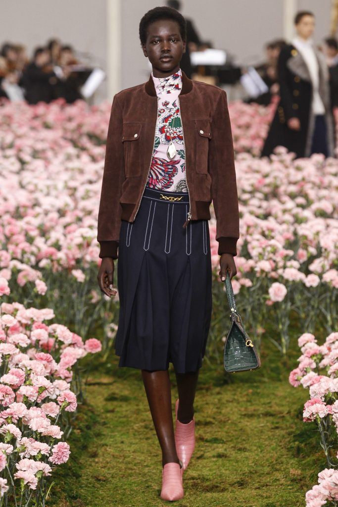 Tory Burch fall 2018 collection at New York Fashion Week