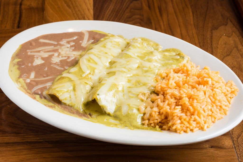 Enchiladas at El Famoso