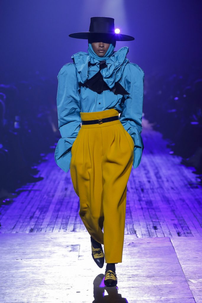 Marc Jacobs fall 2018 collection at New York Fashion Week.