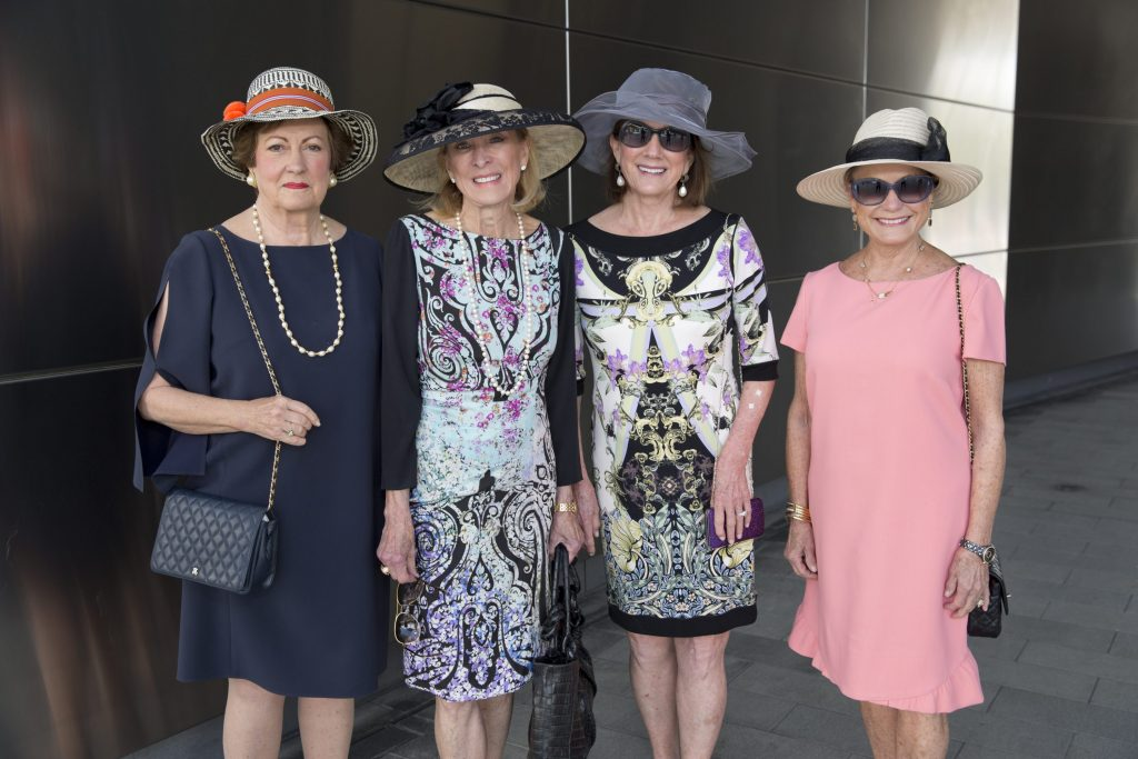 Hermann Park Conservancy Hats in the Park luncheon in the McGovern Centennial Garden