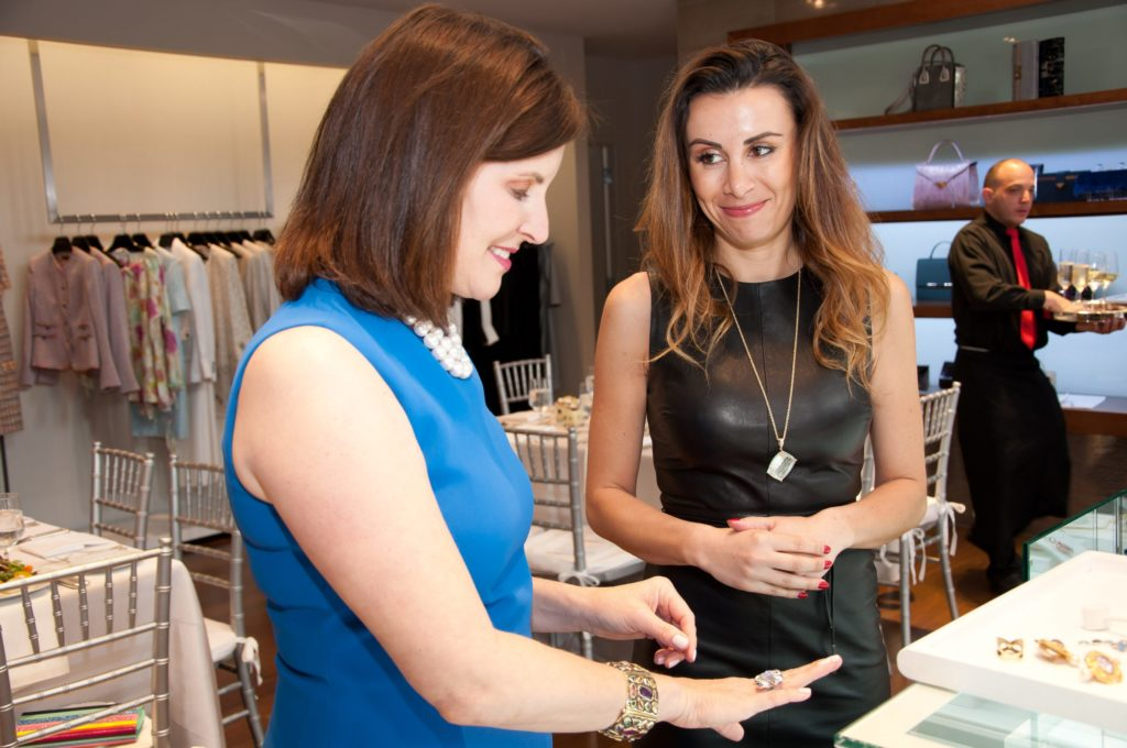 Escada Friends & Trends luncheon at Elizabeth Anthony