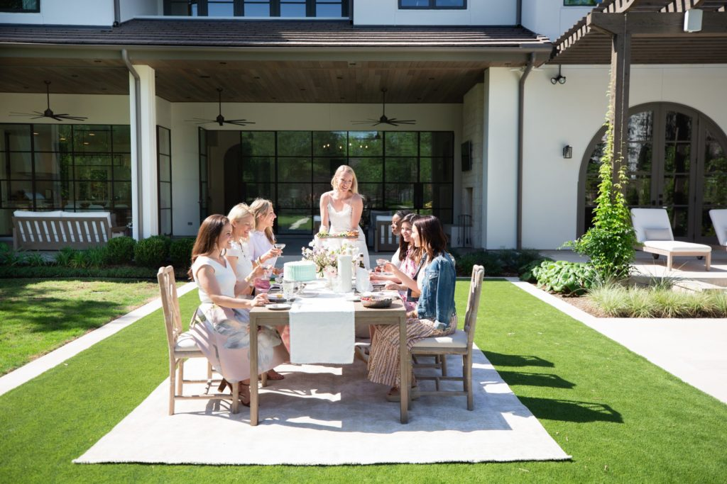 A garden party hosted by six of Houston's most stylish creatives at a Bellaire home designed by Marie Flanigan Interiors
