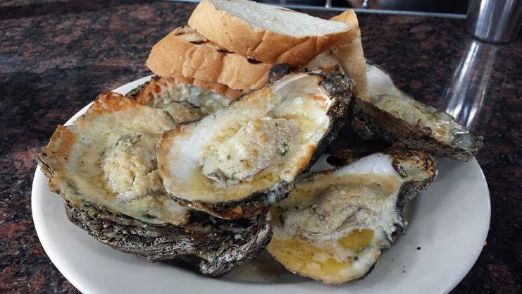 McAdoo's Seafood is big on oysters.