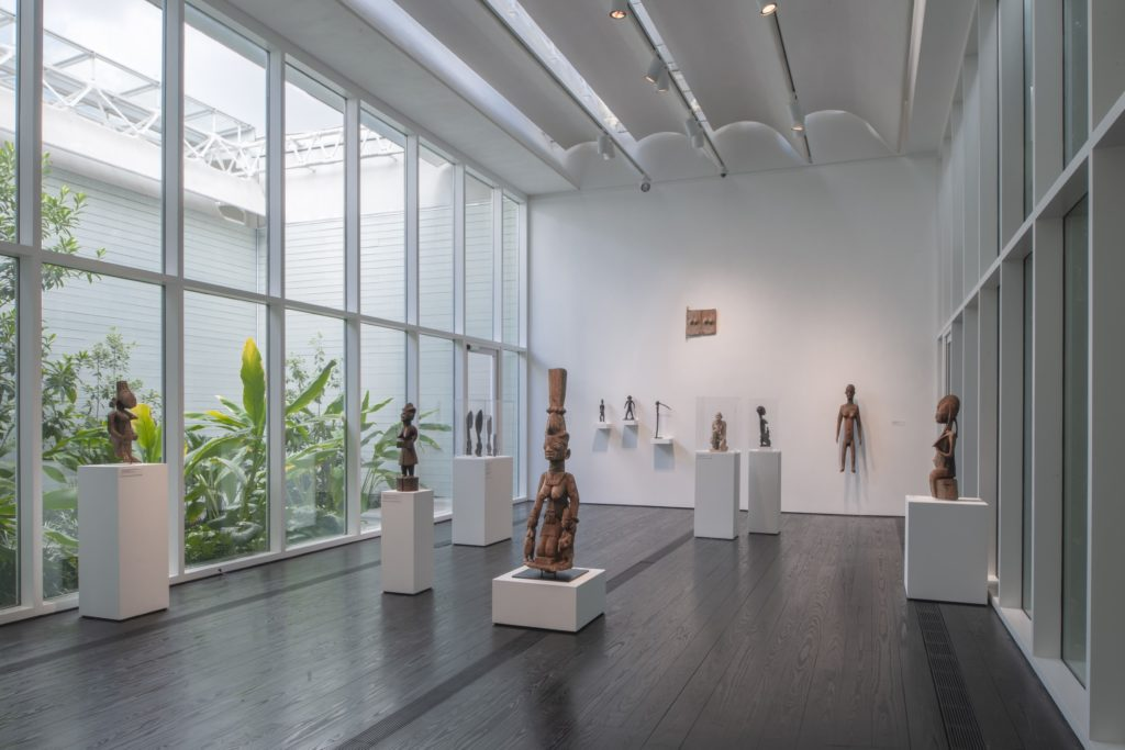 African Garden Gallery (Photo Paul Hester, courtesy The Menil Collection)