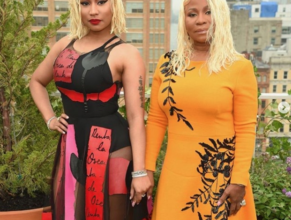 Nicki Minaj Rebounds From Cardi B Drama With a Leggy Oscar de la Renta Moment: Beyond the Fights of Fashion Week