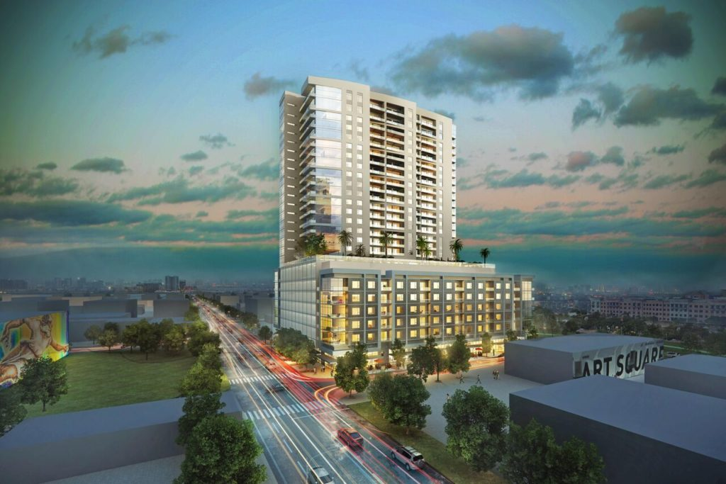 2850 Fannin will be Midtown's first ever residential high-rise.