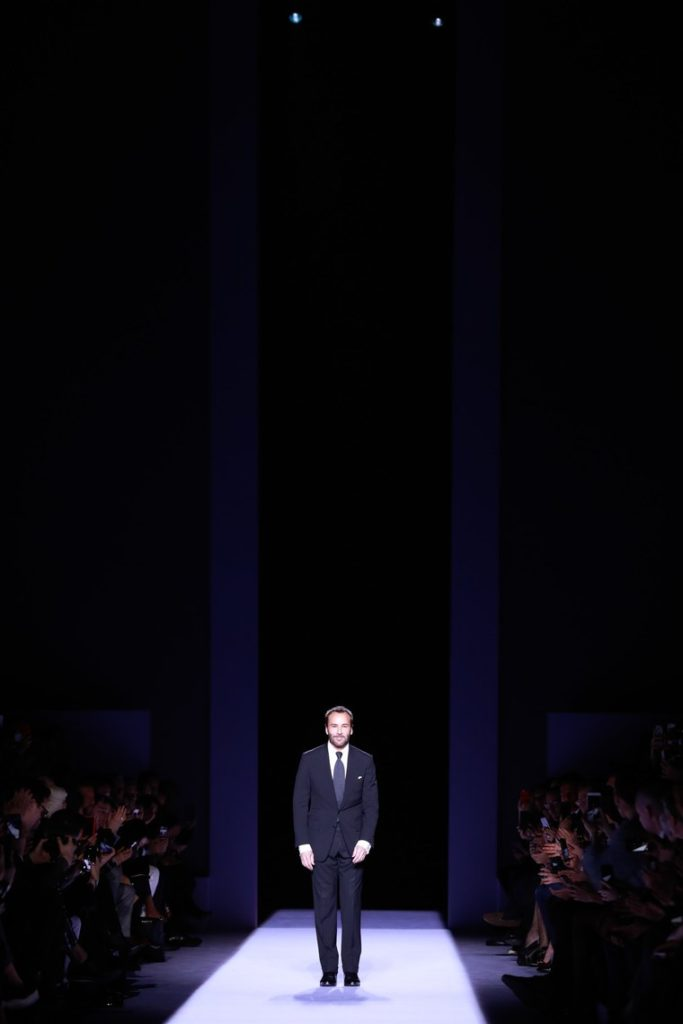 Tom Ford takes a bow