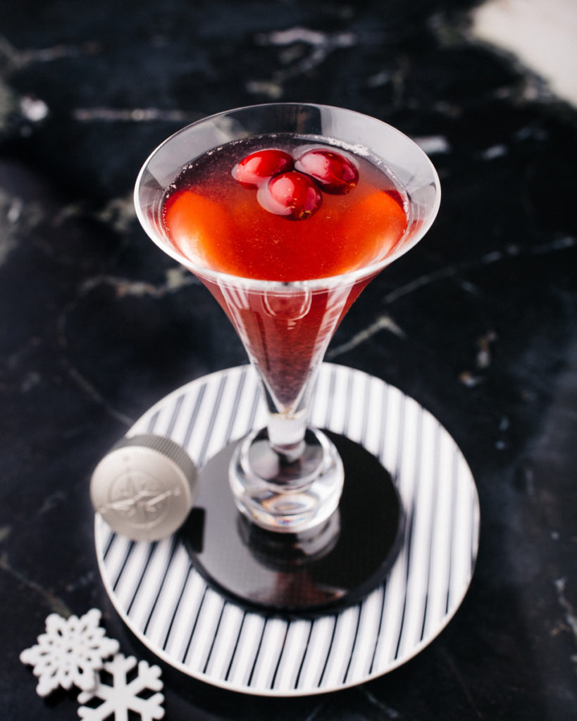Cranberry In Season cocktail