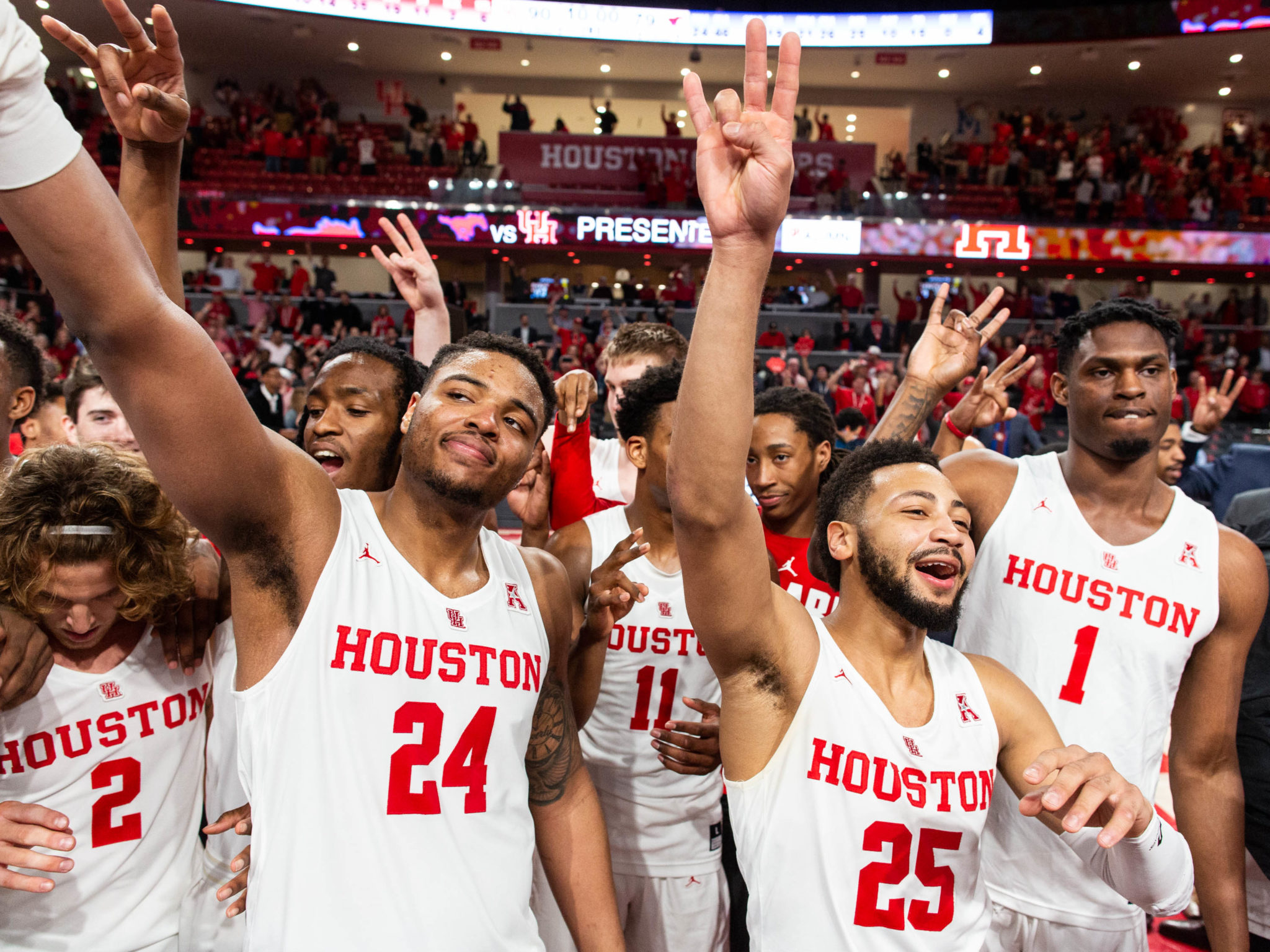 University of Houston Cougars celebration