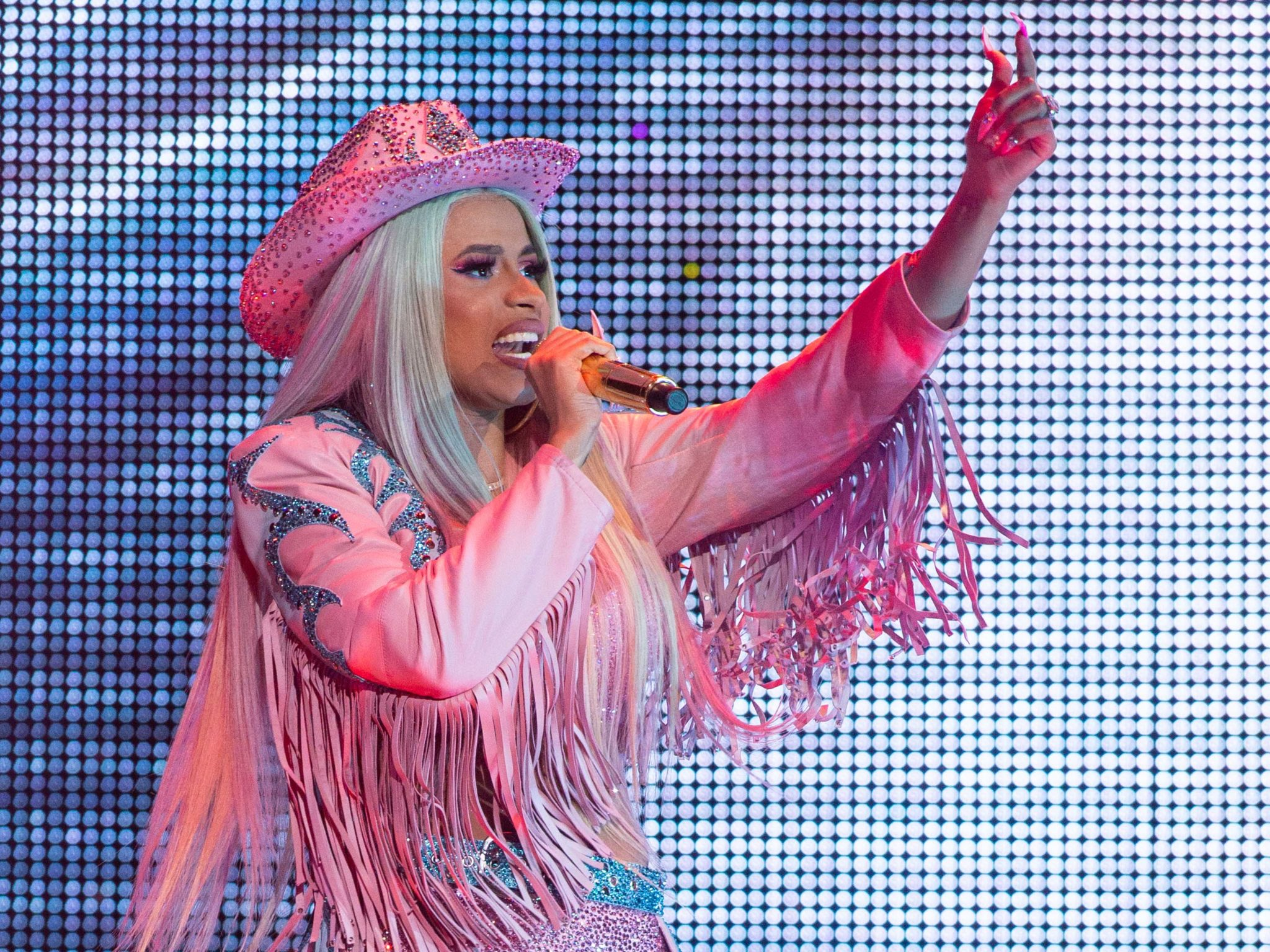 Cardi B Performs at Rodeo Houston at NRG Stadium (Photo by F. Carter Smith)