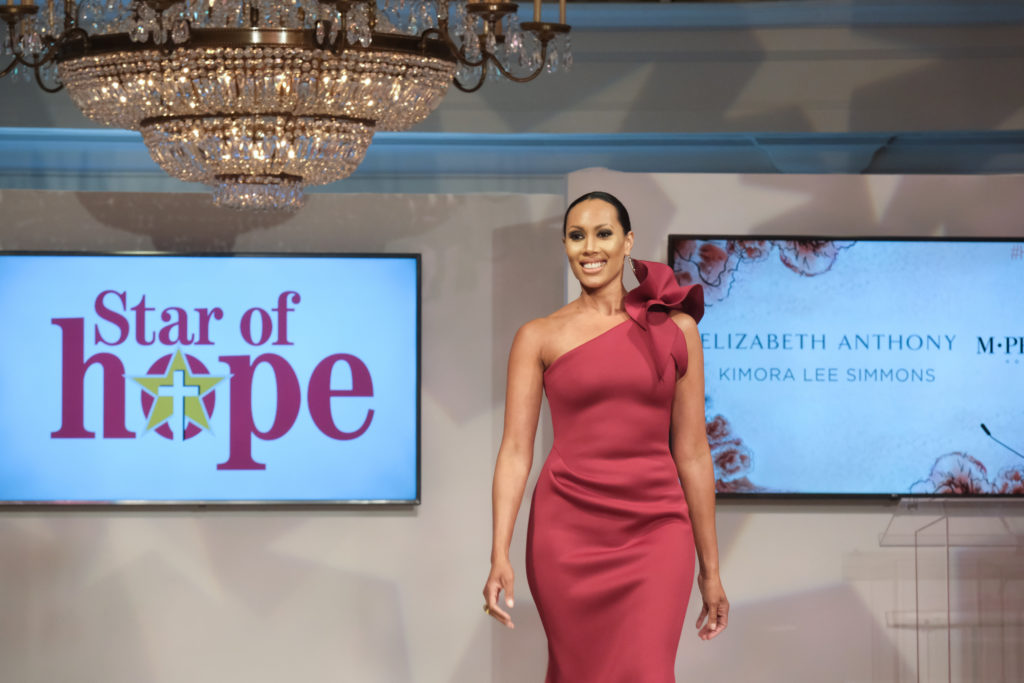 4c412017f43b6 Fox 26' Lina de Florias at the Star of Hope luncheon and fashion shows.