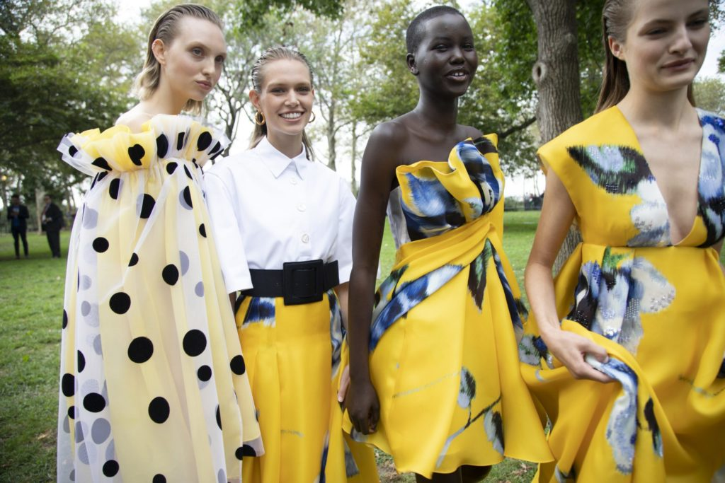 Carolina Herrera spring 2020 collection at New York Fashion Week