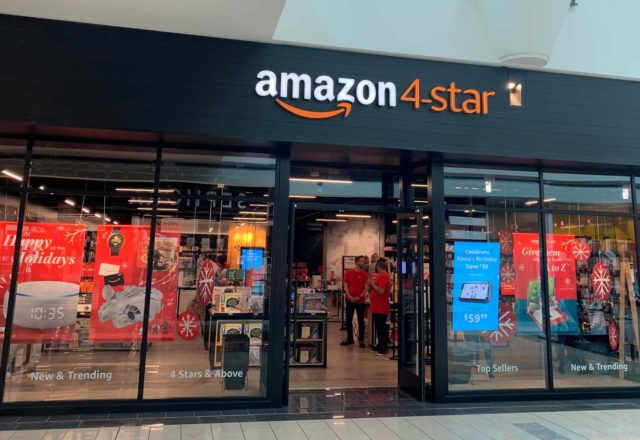 Stonebriar Centre in Frisco gets the newest Amazon 4-star retail store. (Courtesy of Amazon)