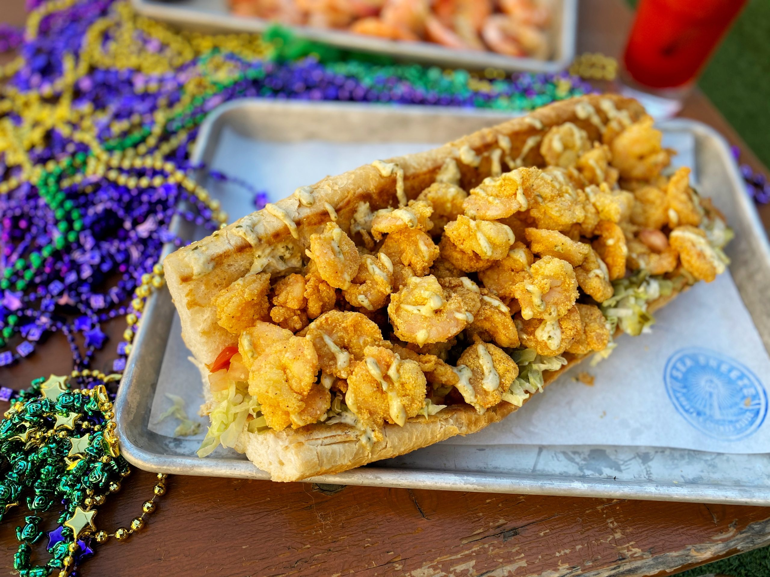 Shrimp Po Boy – Sea Breeze