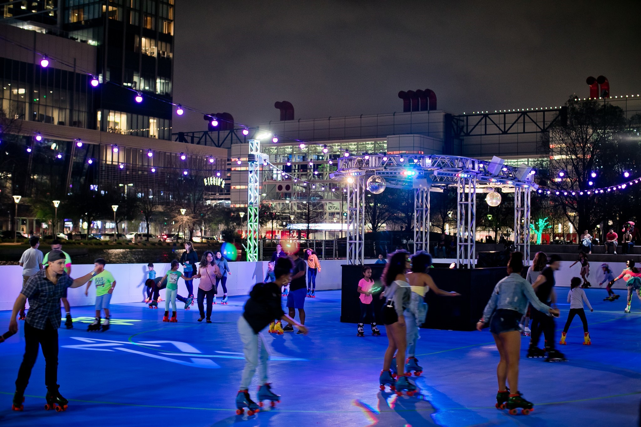 The Rink – Rolling at Discovery Green (1); Photo by Morris Malakoff