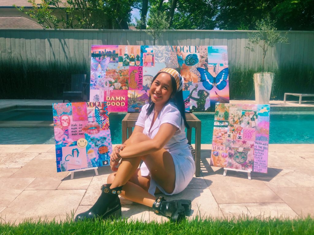 Alexis Ho presents her newest Pop Art collage collection