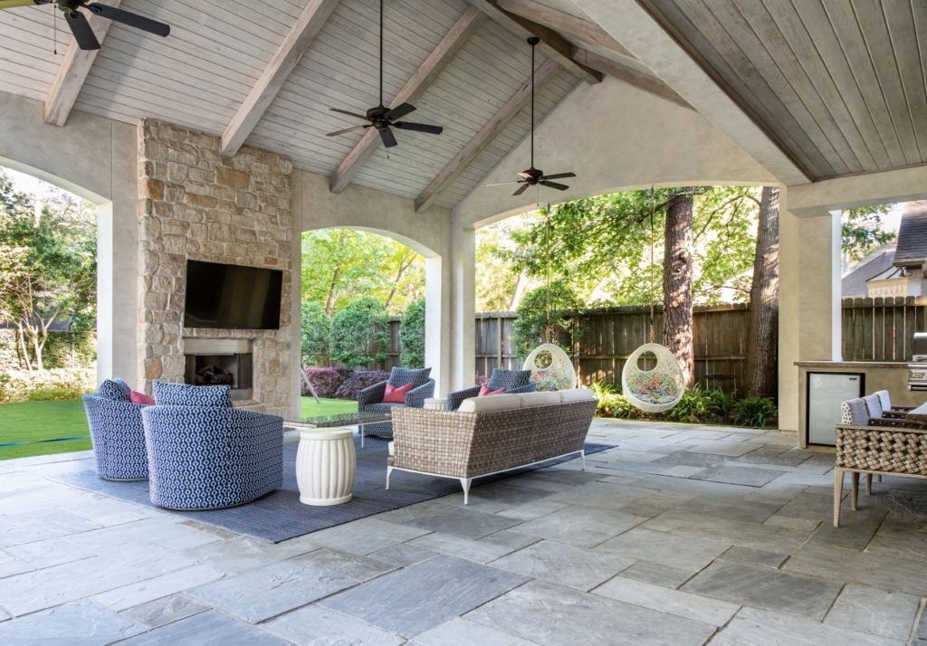 With the coronavirus changing lifestyles and cocooning at home becoming the new norm, attractive outdoor spaces become more important to the homeowner. (Photo courtesy of Frankel Building Group)