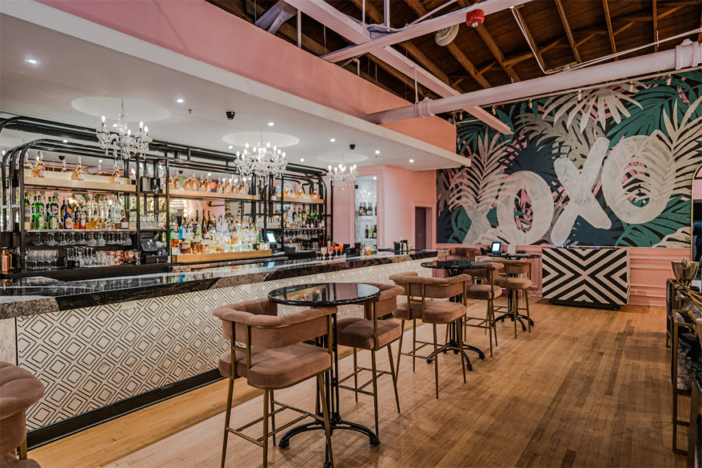 New East Dallas Restaurant Debuts With Very Pink Dining Room And Slick Speakeasy Lounge