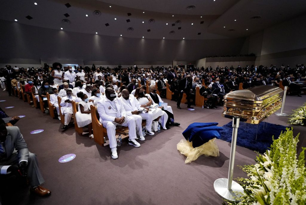 George Floyd funeral Houston