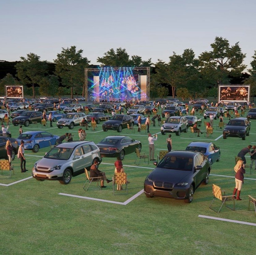 Tupps Drive In Concert