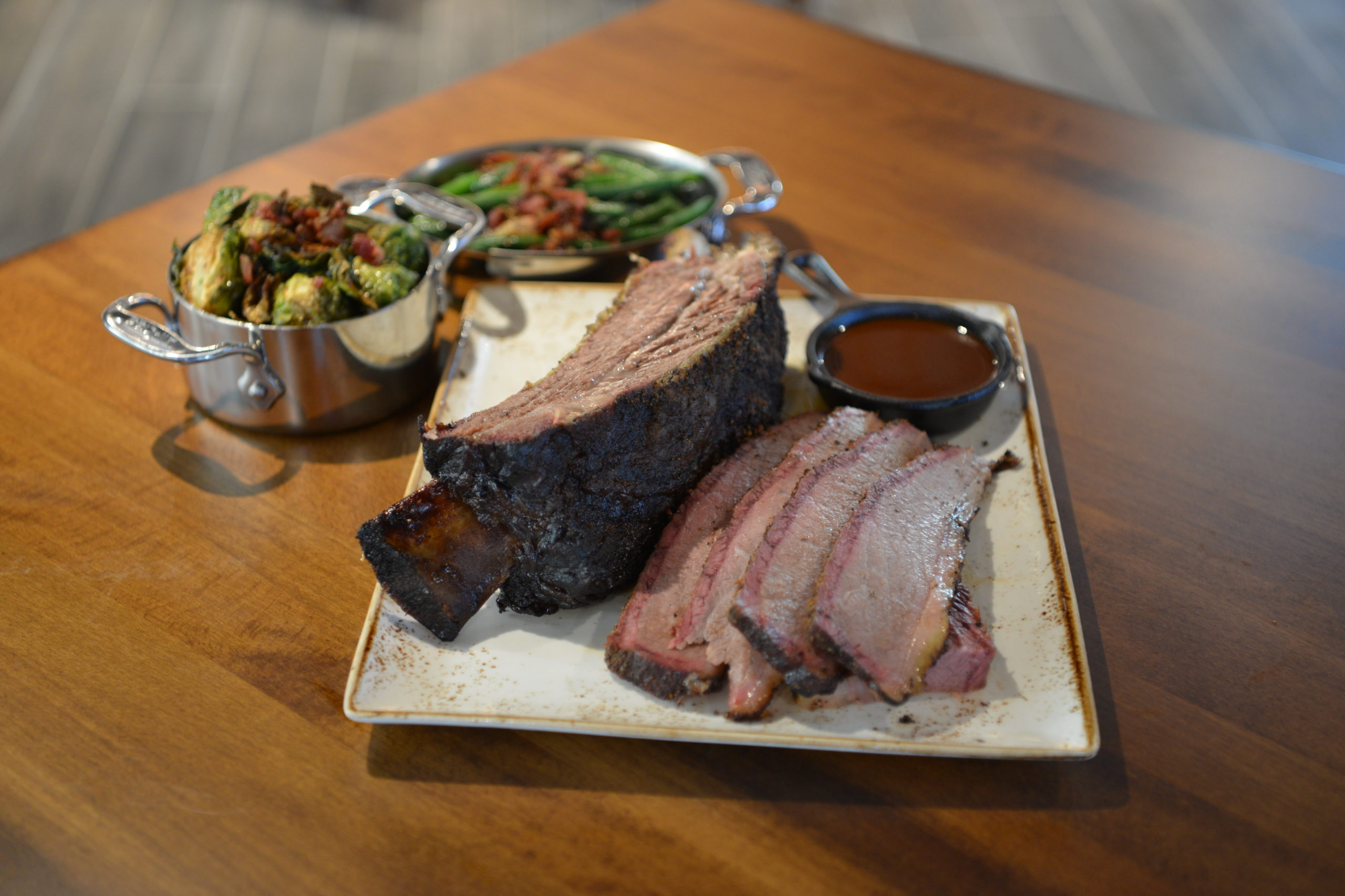 Barbecue is always on Ronnie Killen's menu including that of Killen's.
