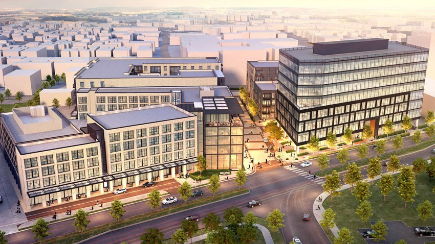 Crescent's new $250 million Fort Worth development is filling a vital, prime piece of real estate in the Cultural District. (Courtesy Crescent Real Estate.)