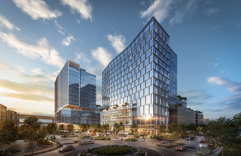 CITYCENTRE 6 Tower rendering