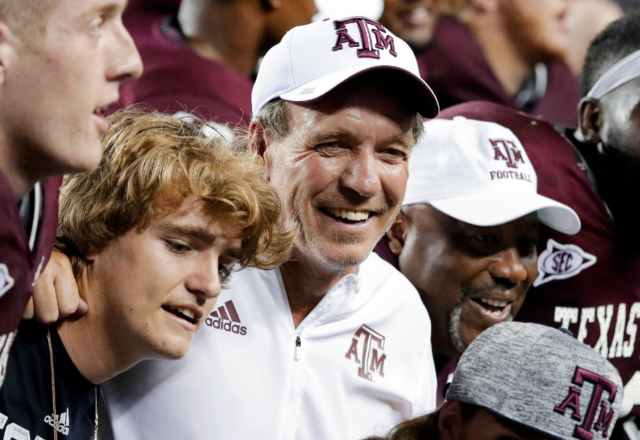 Jimbo Fisher is all in on Texas A&M and its college football atmosphere.
